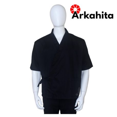 Baju Chef Sushi atau Baju Koki Sushi Hitam