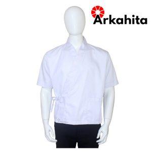 Baju Chef Sushi atau Baju Koki Sushi Putih