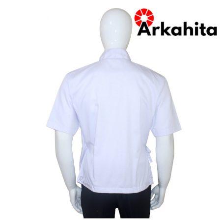 Baju Chef Sushi atau Baju Koki Sushi Putih-4