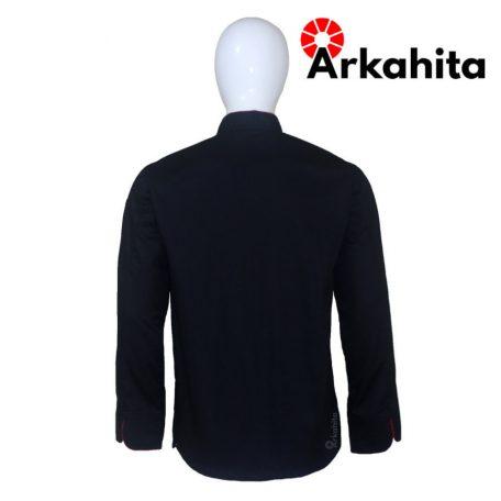 Baju Chef atau Baju Koki Lengan Panjang Hitam CL203-4