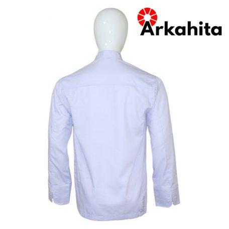 Baju Chef atau Baju Koki Lengan Panjang Putih CL101-4