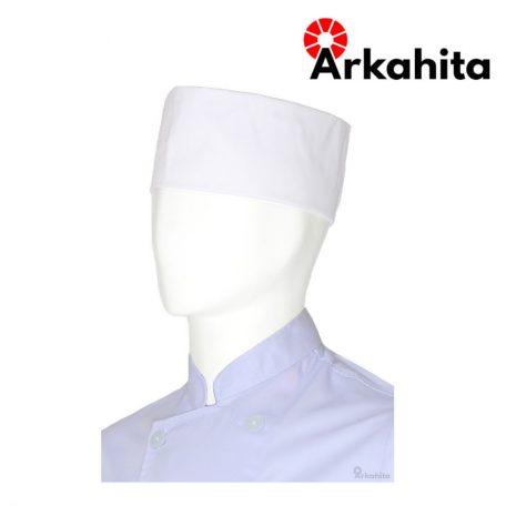 Topi Chef atau Topi Koki Peci Putih-2
