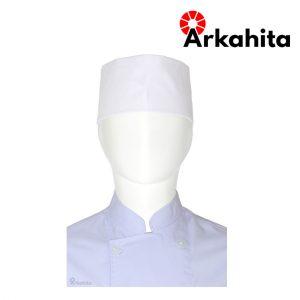Topi Chef atau Topi Koki Peci Putih