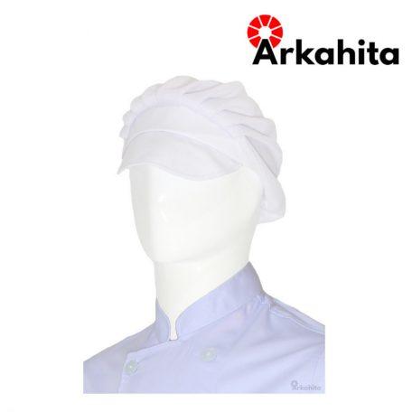 Topi Chef atau Topi Koki Produksi Putih-2