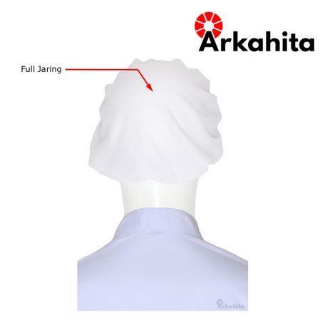 Topi Chef atau Topi Koki Produksi Putih-4