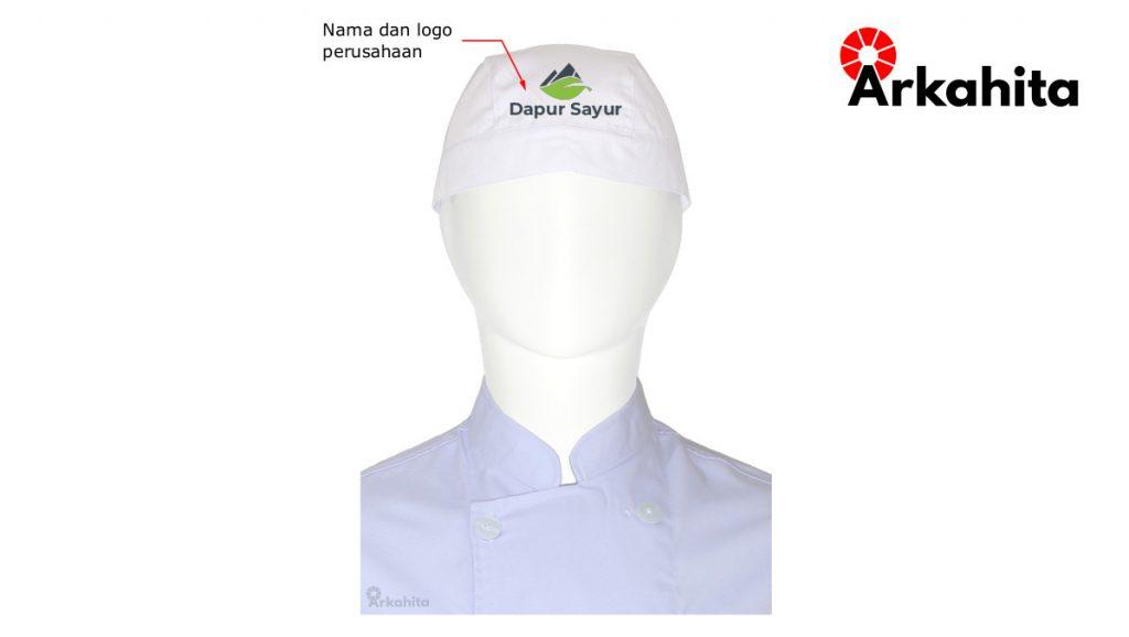 Jasa Bordir Topi Chef