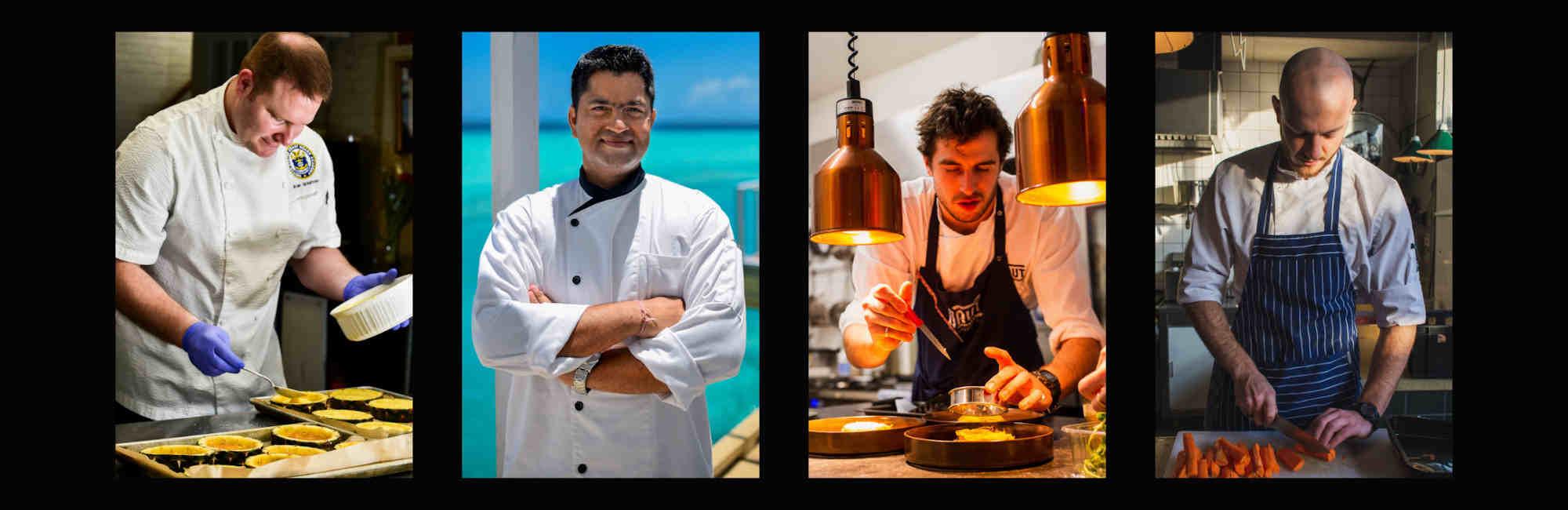 Baju Chef Celemek Masak Topi Chef